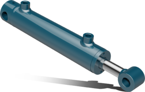 Double acting cylinder with end plug hole – CFF