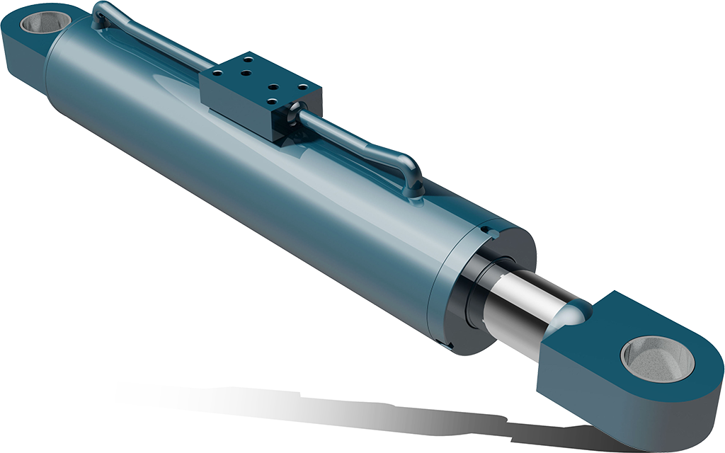 Dual acting hydraulic cylinders with ge rings – CPS