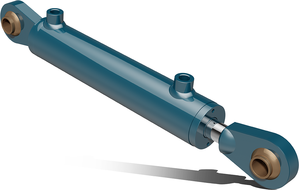 Double acting hydraulic cylinders with agricultural ball joints – CSA