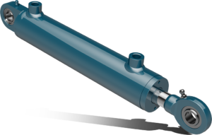 Double acting hydraulic cylinders with industrial ball joints – CSI